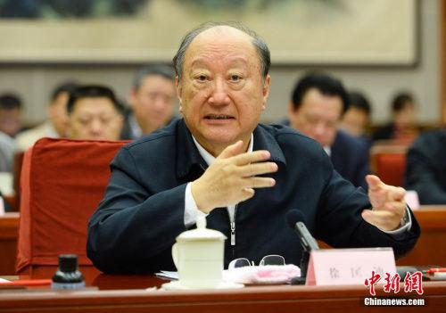 中国工程院主席团名誉主席徐匡迪。(资料图)中新社发 刘震 摄