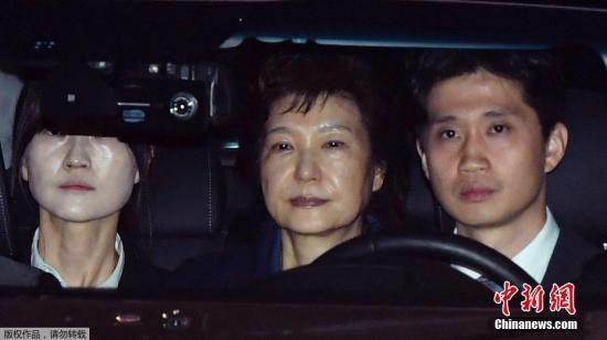 资料图:当地时间3月31日,韩国法院决定,批准拘捕前总统朴槿惠。