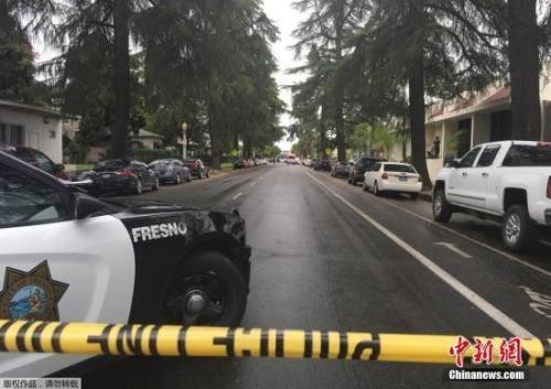 当地时间4月18日,美国加州弗雷斯诺发生枪击案,造成3人死亡。