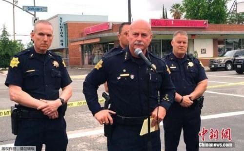 当地警方表示,枪手在4个不同地点发射了约16枚子弹。