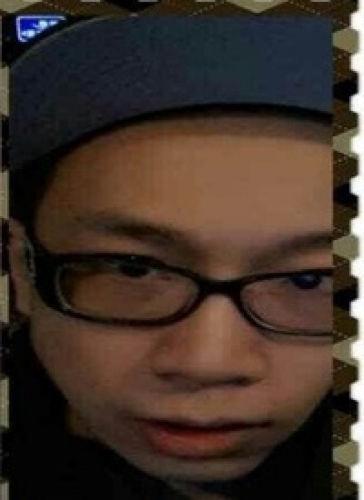 被通缉的华人男子。(美国《世界日报》/警方提供)