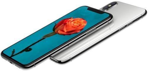 苹果公司发布全面屏手机iPhone X。图片来源:苹果公司官网截图