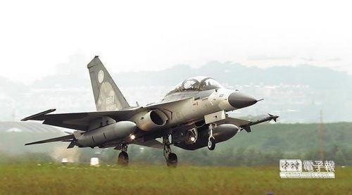 IDF经国号战机。图片来源:《中国时报》。