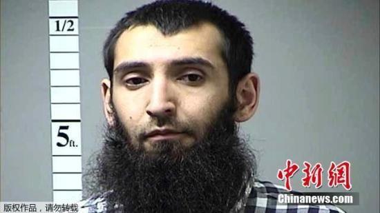 嫌犯名为赛波夫,29岁,来自佛罗里达州坦帕,2010年从乌兹别克斯坦来到美国。