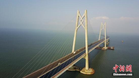 资料图:港珠澳大桥。 中新社记者 陈文 摄