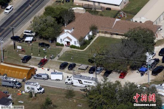 枪手凯利住在得州小镇新布朗费尔斯,当地距离他行凶地点第一浸信会教堂所在的萨瑟兰斯普林斯大约55公里。