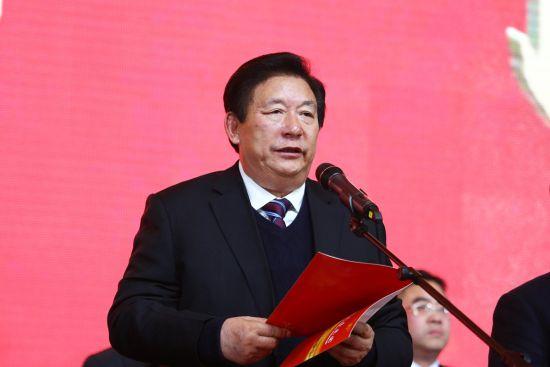 蔡宏柱发布动员令 袁林、王佩佩、黄梦诗/摄