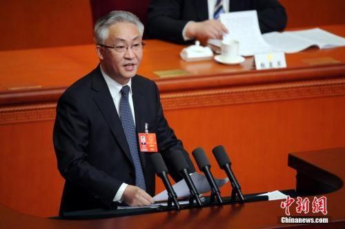 1月24日,天津市十七届人大一次会议开幕,张国清作政府工作报告。中新社记者 佟郁 摄