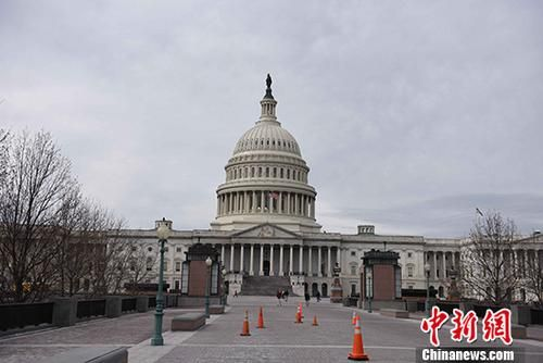 资料图片:美国国会。 中新社记者 邓敏 摄