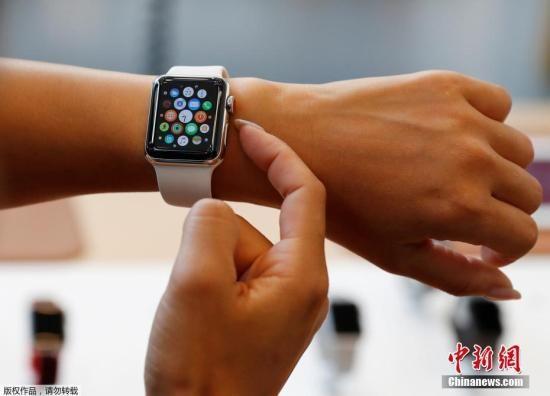 资料图:一款手表。