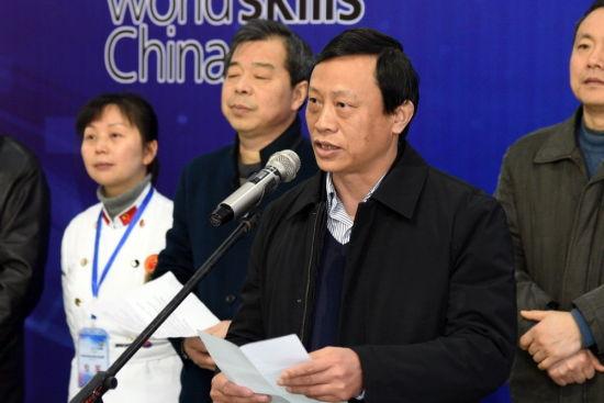 安琪酵母副总经理王悉山在开幕式上致辞