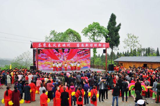 重庆时时彩开奖app:图文:宜昌第三届御园禅茶文化节开幕