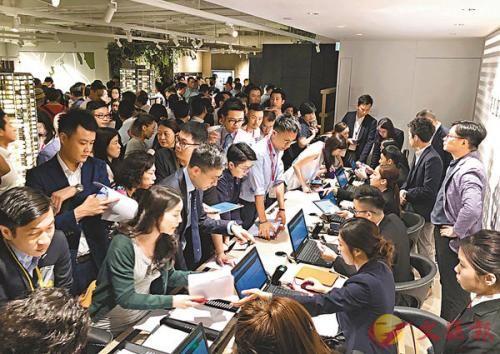 香港楼价不断飙升,政府若开征空置税,预计可增加市场供应。图片来源:香港《文汇报》