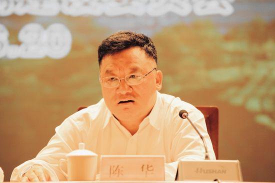 五峰县委书记陈华致辞 钟欣 摄