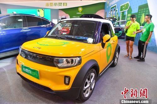 7月19日,2018年中国海南国际汽车博览会暨海南国际新能源汽车展在海口开幕。中新社记者 骆云飞 摄