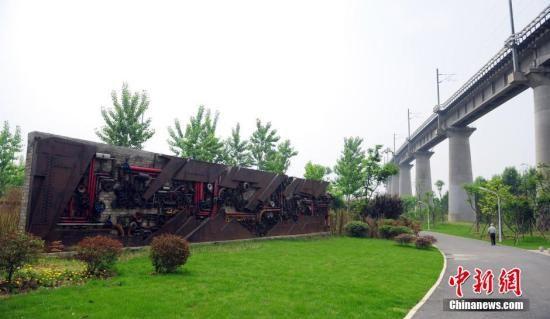 资料图:武汉市青山区戴家湖公园。近中新社发 张畅 摄