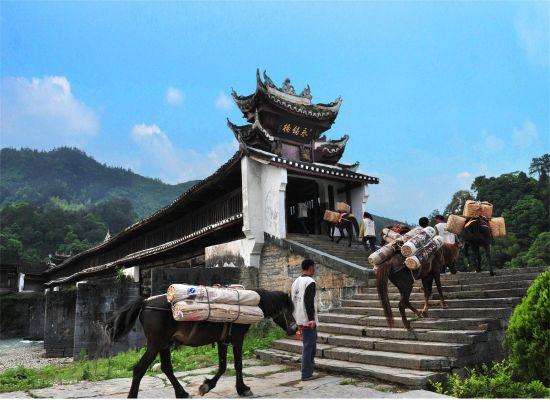 安化国家4A级风景区――茶马古道