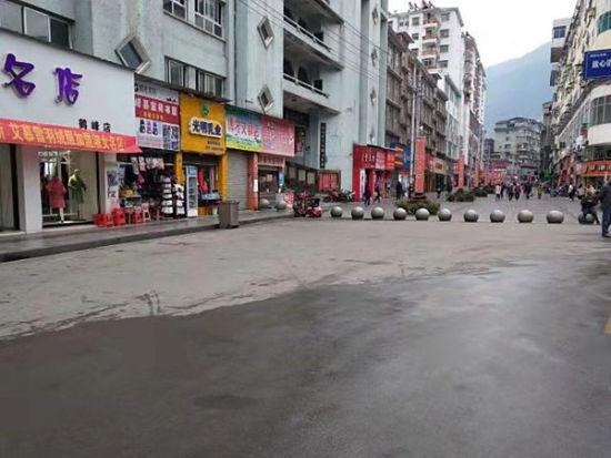 整治后的街道
