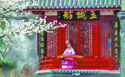 唐式建筑古香古色通讯员冯欣 摄