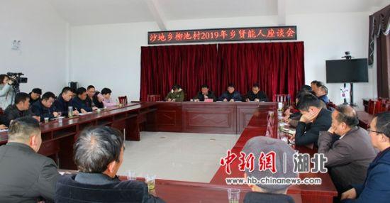 柳池村书记在乡贤座谈会上讲话
