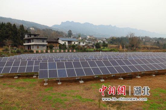 柳池村的光伏发电产业