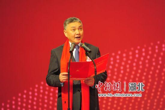 宜昌市副市长王应华致辞 刘康 摄