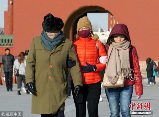 资料图:冷空气来袭。图片来源:视觉中国