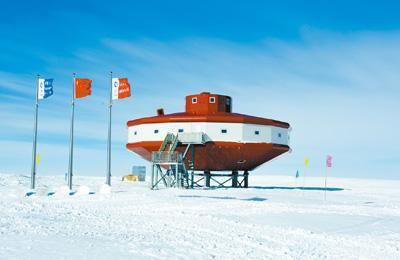 中国南极泰山站全貌。自然资源部极地考察办公室供图