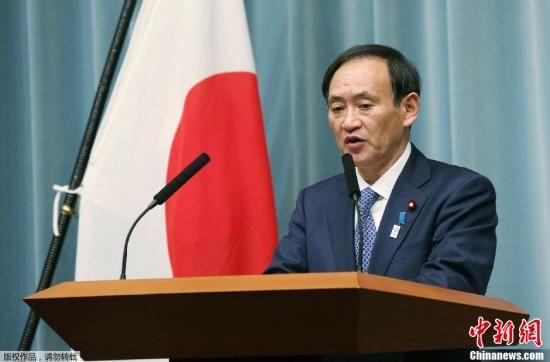 资料图:日本东京内阁官房长官菅义伟。
