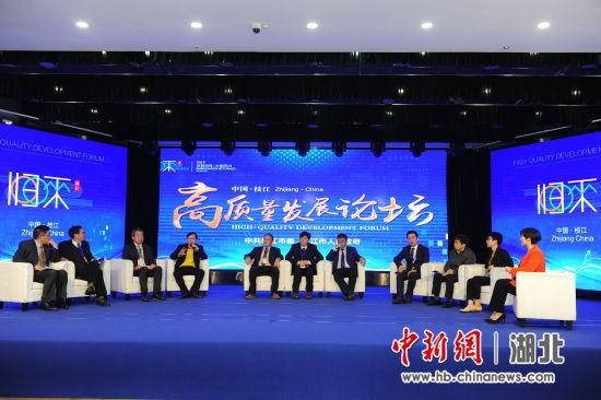 枝江举办海内外专家高质量发展论坛 刘康 摄
