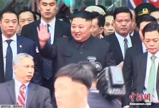 资料图:朝鲜最高领导人金正恩。(视频截图)