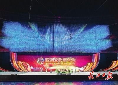 14日晚,印度宝莱坞的演员们在彩排现场 长江日报驻京记者柯立 摄