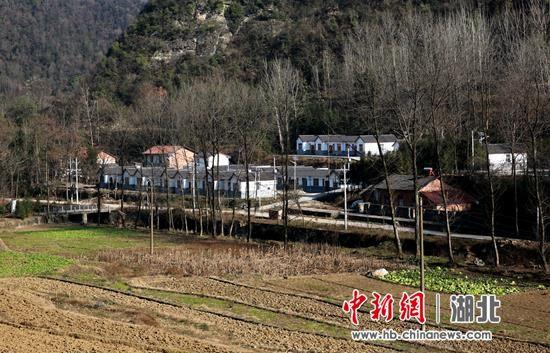 郭峪村的集中安置房