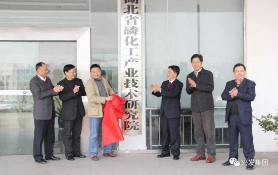 湖北省磷化工产业研究院在宜昌新材料产业园揭牌