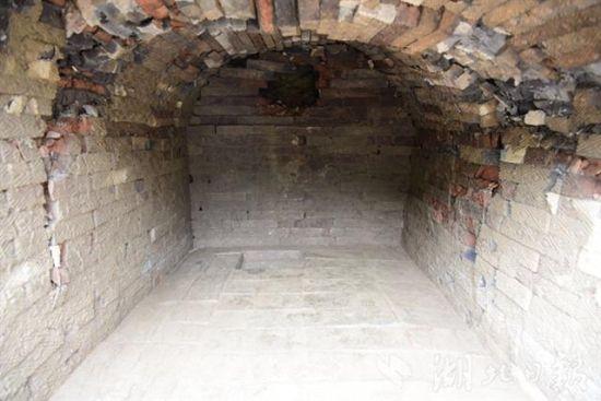 墓室。(本文图均由十堰市博物馆供图)
