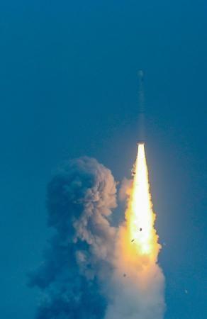长征十一号运载火箭海上发射瞬间。中国运载火箭技术研究院供图