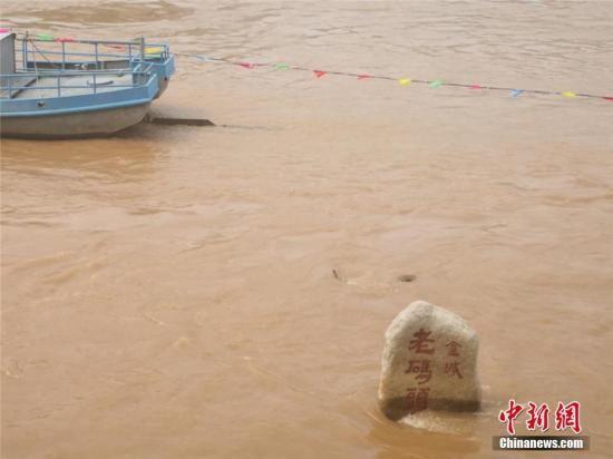 资料图:正值汛期的黄河。史静静 摄