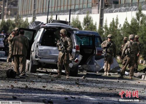 资料图:美国驻阿富汗士兵。