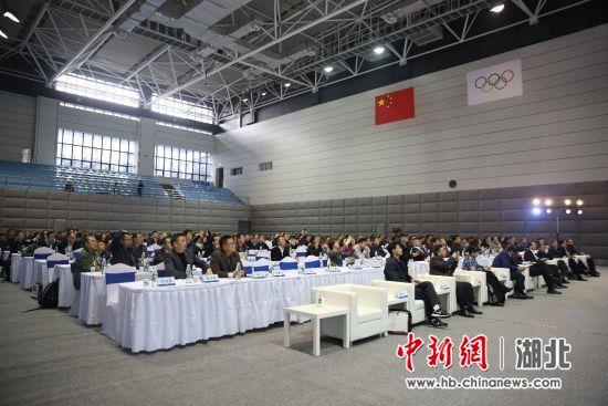中国体育用品业联合会系列公益交流培训会现场