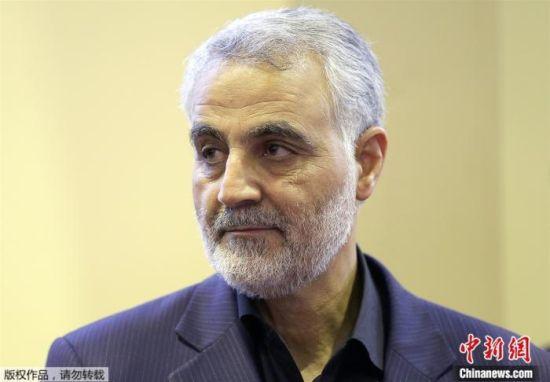 伊朗军事将领苏莱曼尼。