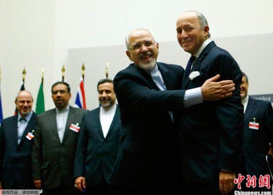 2015年,伊朗与伊核问题六国签署伊核协议。