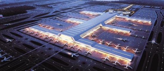 湖北企业领衔设计 鄂州机场主体工程下月开建