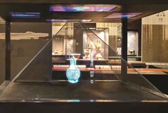 青铜器全息投影设备