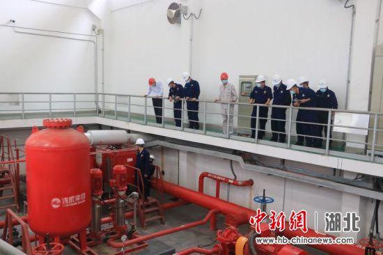荆州江陵消防举行现场观摩会