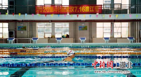 2020年武汉7·16渡江节举行测试赛
