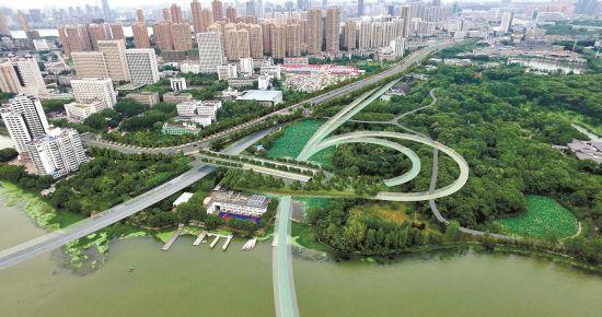 占水7万方还湖9万方 武汉两湖隧道开启环保施工
