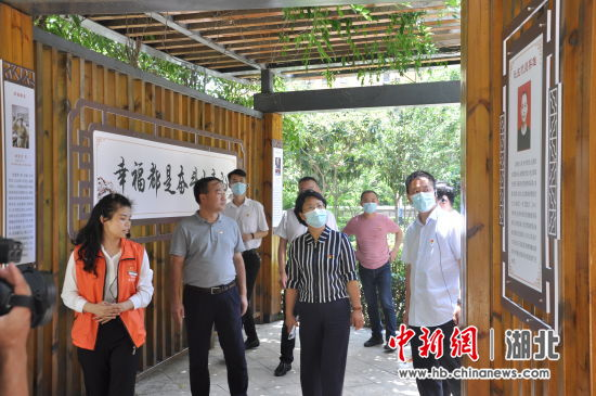 襄阳:党建引领基层治理 让阳光洒满家门口