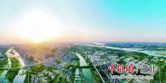 襄阳谷城绿水清河惠人民