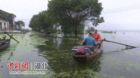 沙洋港口村紧急转移安置受灾群众67人