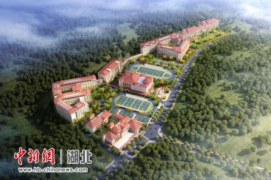 宜昌高新区金东方学校设计示意图